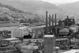 Ebbw Vale Steelworks South Wales United Kingdom & The demolition of the plant