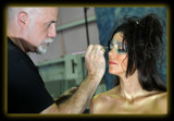 Dawnie & Kevin doing Makeup