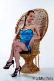 Britt in Blue Oriental