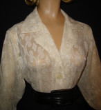 Ivory Sheer Blouse_Small(arrived)