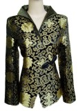 Oriental Blk Gold Jacket_Small ( arrived )