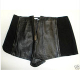 Leather Mini Shorts_ 3 junior XS ( arrived )