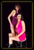 Mallory & Andrea Purple & Pink