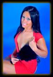 Britt in Red