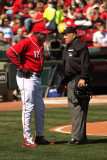 Reds manager Dusty Baker has a few words...