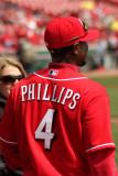 Reds second baseman Brandon Phillips