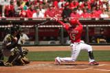 Jerry Hairston Jr. swings through