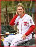 Reds Pitcher Bronson Arroyo(aka Goldie Locks)