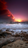 Pt Willunga Winter Sunset