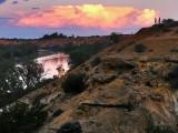 Heading Cliffs Sunset