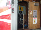 THE GENERATOR CONTOL PANEL IS NOW LOCATED ABOVE THE POWER TRANSFER SWITCH