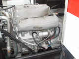 THE FUEL PUMP AND FILTER WERE RELOCATED TO OPISITE SIDE FOR EASE OF SERVICE