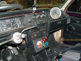 I'VE ADDED NEW VDO GAUGES, COVERED SWITCHES, MASTER BATTERY KILL SWITCH, SHIFT LIGHT AND A TELL TALE TACHOMETER