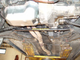 I INSTALLED A HI VOLUME SCIROCCO OIL PUMP, BAFFLED OIL PAN, LOWER STRESS BAR &  SCIROCCO TRANS. THE BEARINGS WERE GOOD