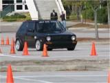 VERY LITTLE BODY ROLL AT THE SCR/SCCA NORTH CHARLESTON AUTOCROSS