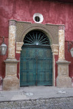 Many beautiful doors, windows and walls remain with original architecture of colonial times