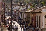 The crowds get larger as Good Friday (Viernes Santo) approaches