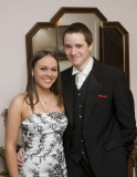 My daughter on her way to her formal