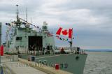 Frégate canadienne NCSM Toronto.