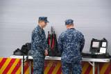 USS Boone des États-Unis  Marine Corps
