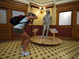 Striking a pose, State Capitol Museum, Phoenix, Arizona, 2009