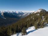 Sulphur Mountain - West View