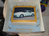 A lovely Birthday cake from my Wife for my 51st Birthday
