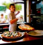 Giuseppe makes pizza