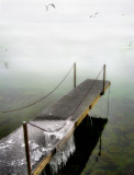From a misty pier one can sail to nowhere....