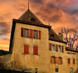 Sunset manor....