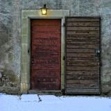 Behind the open door another one is locked...