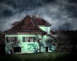 The green farmhouse