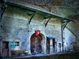 The old farmhouse which felt blue,,,,