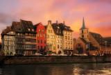 Alsatian sunset