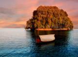 A symbolic small island...