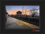 Dawn Breaks at Farmingdale Station