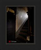 A Dark Staircase of An Apartment