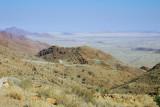 the pass to Namib