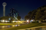 dallas, texas - october, 2007 (the grassy knoll in dealy plaza)