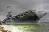 The USS Lexington (CV16) - August, 2009 and November, 2007