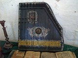 old zither in synagogue