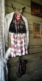 highlander female`s national costume