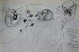 Przebudzenie pluskwiarza, pencil on paper, 1931
