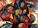 Composition fantastical, 1915-1920, oil on canvas