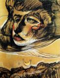 Portrait of Nena Stachurska, 1929, pastel on paper