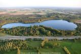 'Bird's eye view' van het Kempisch landschap - Vennen, plassen, water ...