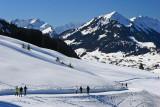 Kleinwalsertal Österreich Wanderung Söllereck - Riezlern (13.2.2008)