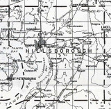 1932 Hillsborough Co FL Map