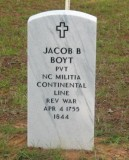 Jacob Ballard Boyte b. 1755 Wayne Co NC d. 1844