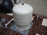 Water Pressure Tank - No Cross Connection